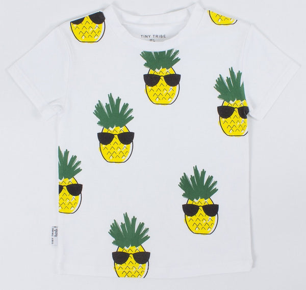 Cool Pineapple Tee - LAST ONE size 000