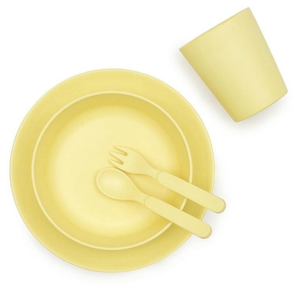 Bamboo Dinnerware Set - Sunshine