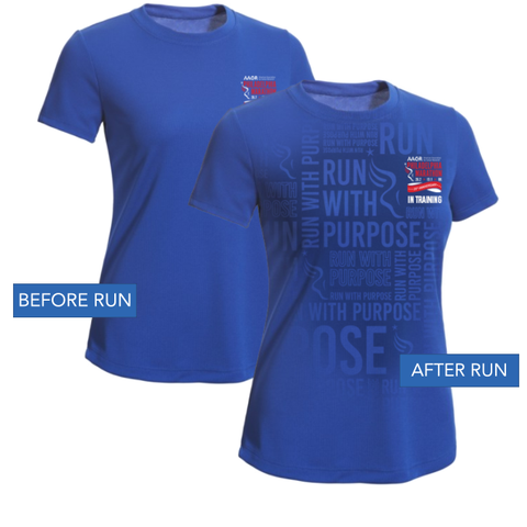 Official Training Shirt Ð 2018 AACR Philadelphia Marathon Weekend - Women's