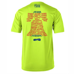 AACR Philadelphia Marathon 'Directions 26.2' Men's SS Tech Tee - Nightlife