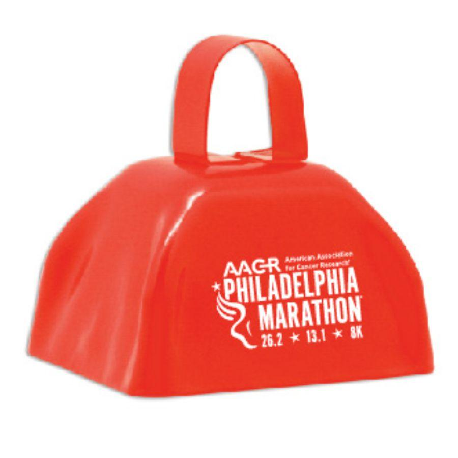 Cow Bell -Red 'AACR Logo Design' - AACR Philadelphia Marathon