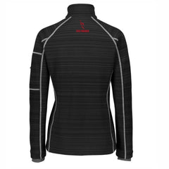 Women's 'Deviate' Bonded Tech Zip Jacket -Black 'Finisher 2019 Embr. Design' - AACR Philadelphia Marathon