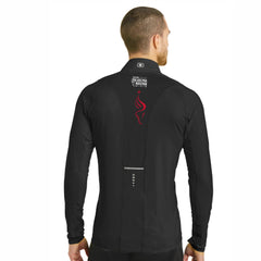 Men's OGIO Tech 1/4 Zip -Blacktop 'LCP Run Philly Design' - AACR Philadelphia Marathon