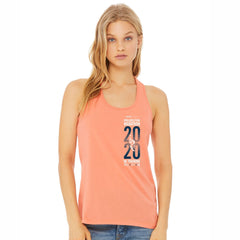 Women's Racerback Ringspun Tank - Sunset 'In Training 2020 Design' - AACR Philadelphia Marathon