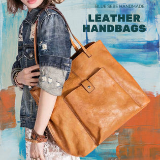 Handmade Leather Handbags, tote bags & more