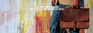 Leather Satchel, Briefcase and Messenger Bags