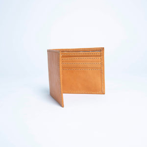 Bati | Tan Brown Leather Bifold Wallet | Mens Wallet | Mens Leather Billfold Wallet | Mens Leather Wallet | Mens Bifold Wallet | Leather Accessories | Mens Wallet | All Leather Wallet | Card Holder | Leather Pocket Wallet | Brown Wallet | Brown Leather Wallet