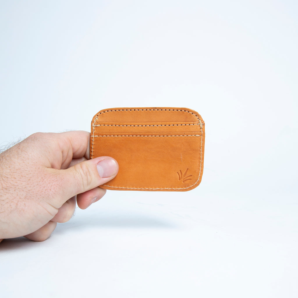 Bati | Tan Brown Leather Credit Card Wallet | Card Wallet | Credit Card Case | Leather Wallets | Mens Leather Wallet | Wallets for Women | Ladies Wallet | Small Wallet | Bifold Wallet | Wallet Purse | Bati Handmade Leather Wallets | Brown Wallet | Brown Leather Wallet