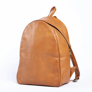 Bati | Tan Leather Backpack | Quality Handmade Leather Goods from Paraguay | leather backpacks, leather bags, bati,