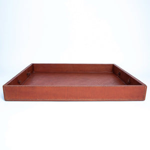 Brown Leather Nesting Tray | Leather Cedar Tray, Home Decor, Leather Accessories, Leather Box, Leather Serving Tray, Bati | Brown Leather Tray | Leather Valet Tray, Home Decor, Leather Accessories, Leather Box, Leather Serving Tray | Bati Leather Goods