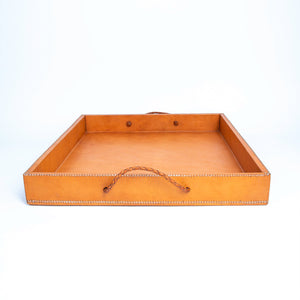 Tan Leather Nesting Tray | Leather Cedar Tray, Home Decor, Leather Accessories, Leather Box, Leather Serving Tray, Bati | Tan Leather Tray | Leather Valet Tray, Home Decor, Leather Accessories, Leather Box, Leather Serving Tray | Bati Leather Goods