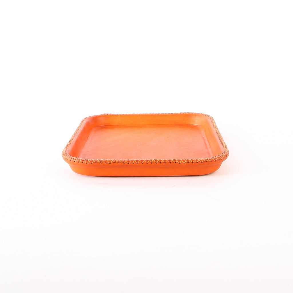 Orange Leather Tray | Leather Valet Tray, Home Decor, Leather Accessories, Leather Box, Leather Serving Tray, Bati | Orange Leather Tray | Leather Valet Tray, Home Decor, Leather Accessories, Leather Box, Leather Serving Tray | Bati Leather Goods