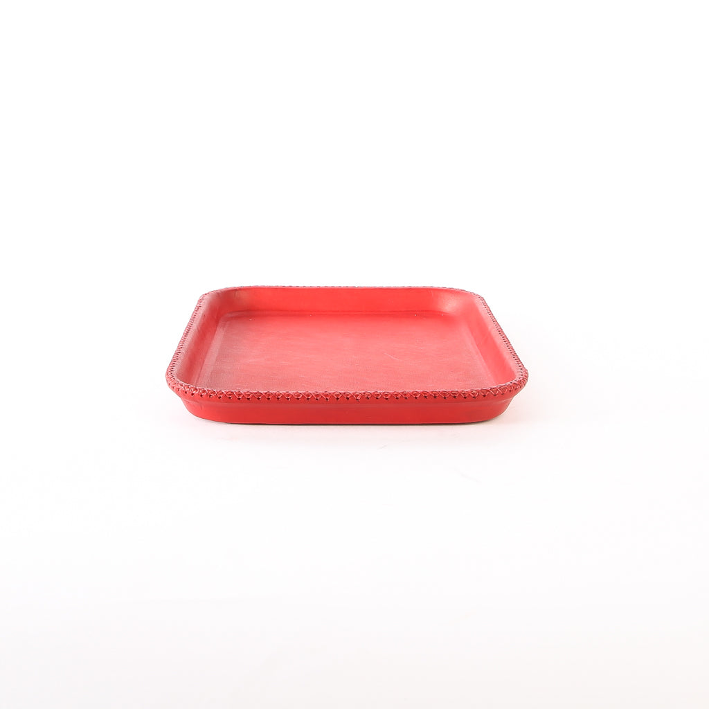 Red Leather Tray | Leather Valet Tray, Home Decor, Leather Accessories, Leather Box, Leather Serving Tray, Bati | Red Leather Tray | Leather Valet Tray, Home Decor, Leather Accessories, Leather Box, Leather Serving Tray | Bati Leather Goods
