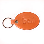 Bati | Tan Leather Key Fob | All Leather | Vegetable Tanned Leather | Key Chain | Keys