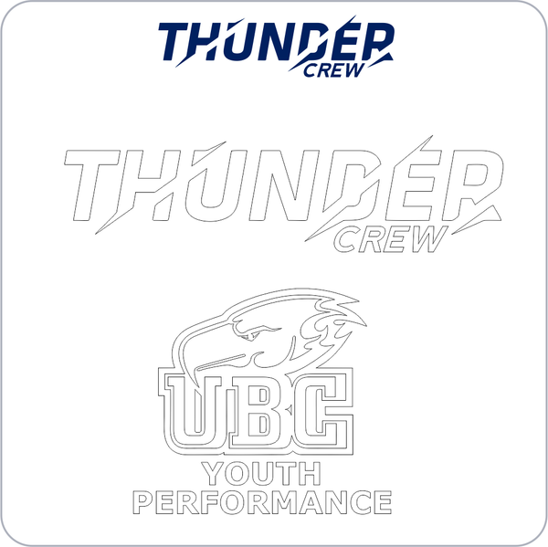Thunder Decal Set