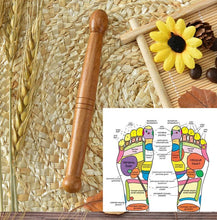 Wooden Narrow Acupressure Trigger Point Stick