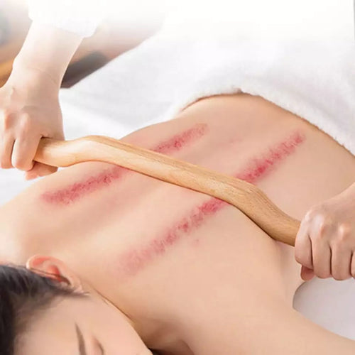 Natural Wood Gua Sha Scraping Stick (52cm)