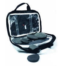 VULSINI LUX Mini Bag and basalt stone set for hot stone reflexology massage therapy
