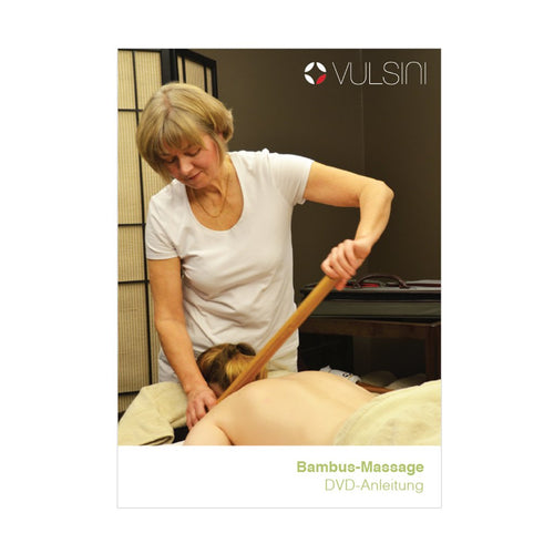 VULSINI warm bamboo full body massage training DVD