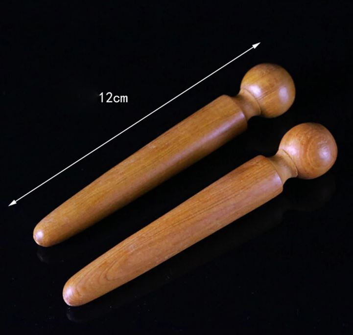 Wooden Foot & Body Reflexology/Acupressure Massage Tool ...