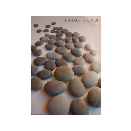 poster of basalt hot stones rocks massage spa
