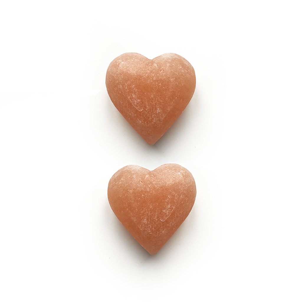 Small Heart Himalayan Salt Stone Add-On (2)