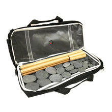 VULSINI LUX Duo Plus heating pad and bamboo stick set for hot stone and warm bamboo massage