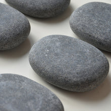 Large basalt working stone rock for hot stone massage therapy