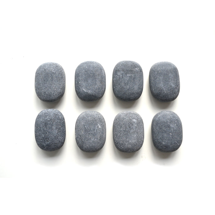 Basalt stone rocks for hot stone massage therapy