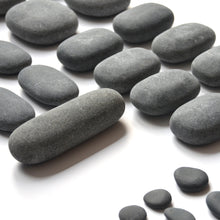 hand cut basalt stone set for hot stone full body massage therapy