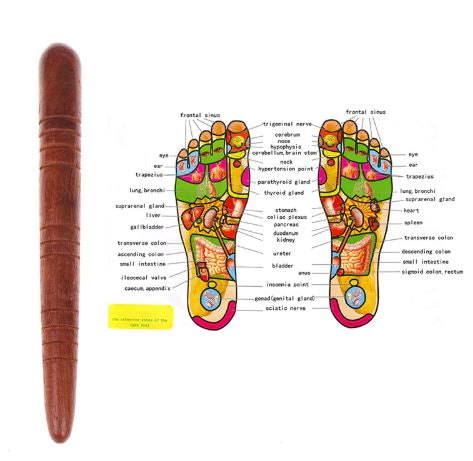 Rosewood Thai Reflexology Stick