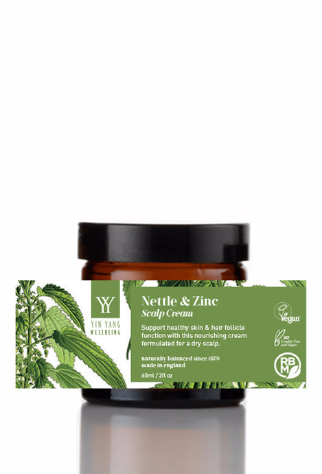 Nettle & Zinc Scalp Cream (60ml)