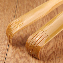 Body Massager 45cm Long Wooden Body Stick Roller Back Scratcher