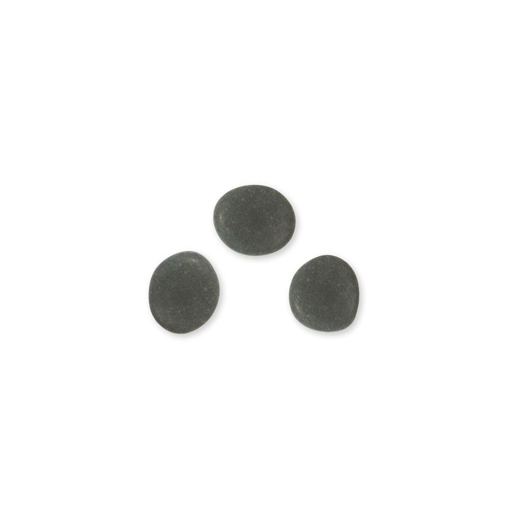 Basalt facial stones for hot stone massage therapy