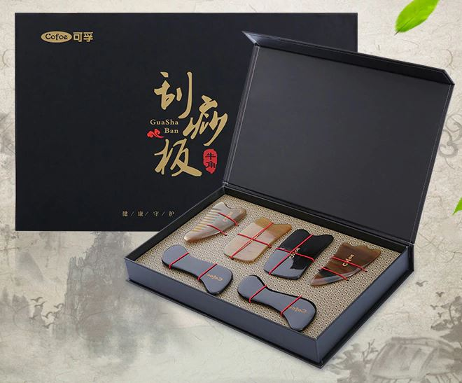 6 Piece Gua Sha Skin Scraping Gift Set
