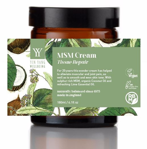 MSM Tissue Repair Cream (180ml)