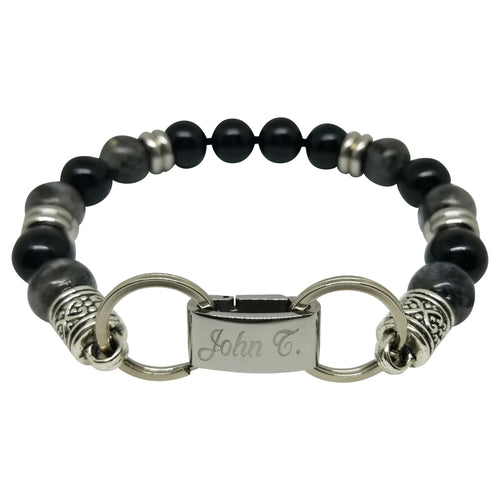 Men's Personalized Name Bracelet