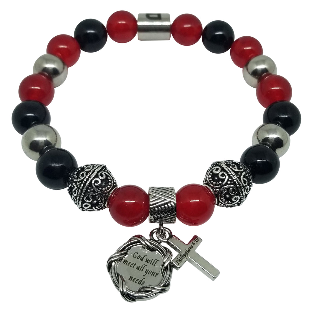Bible Scripture Ladies Bracelet