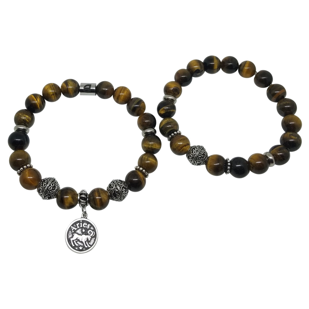 Aries Stackable Zodiac Bracelet