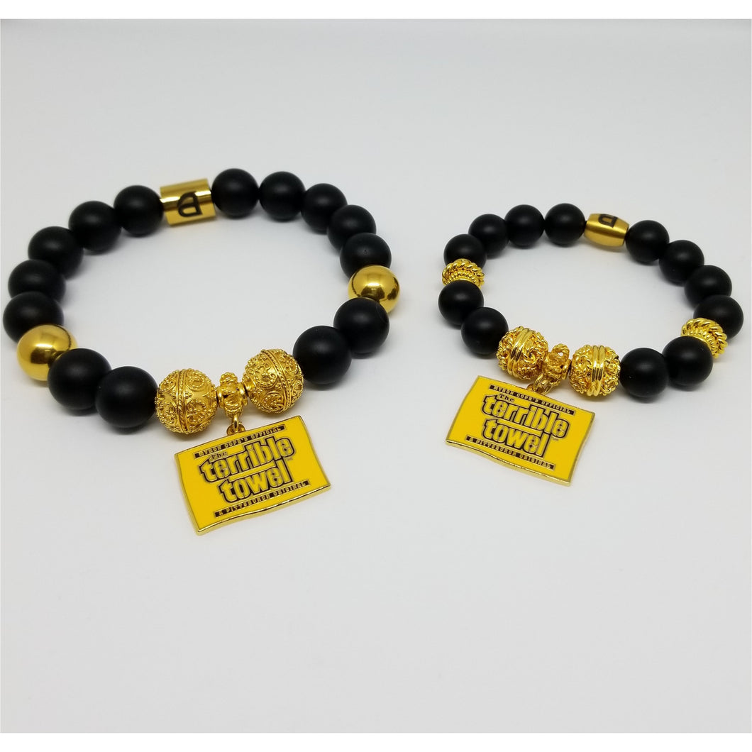 Steelers Terrible Towel bracelet