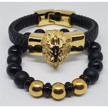 Gold Lion Stackable
