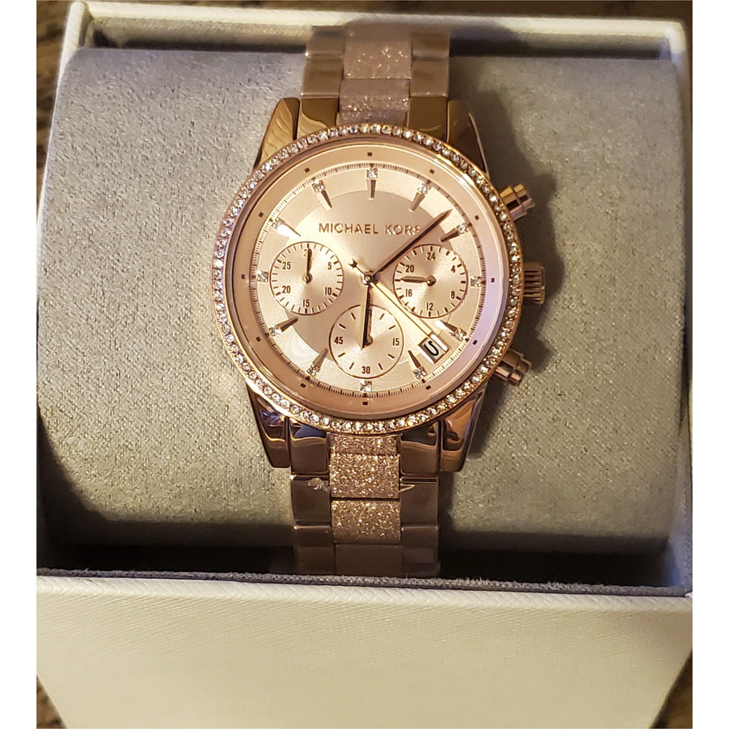 Rose Gold watch w/ Matching bracelet