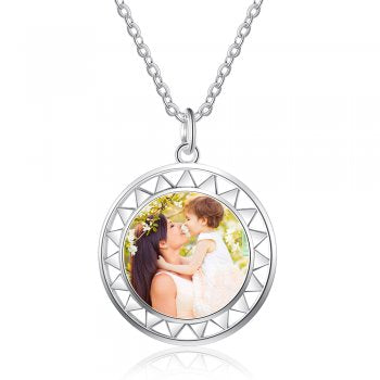 925 Sterling Silver Photo Necklace