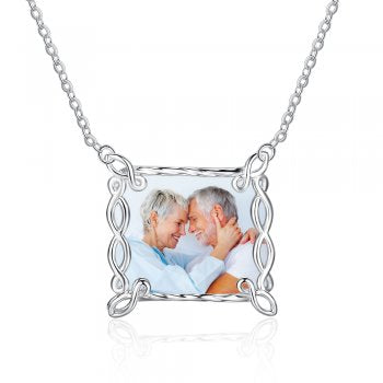 925 Photo Necklace
