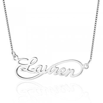 925 Sterling Silver Name Necklace