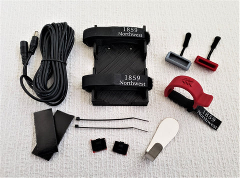 Ride Kit, Merlot Edition = Throttle Attachment +Battery Cap Set + Charging Kit
