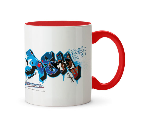 La Borinqueña X Crash One Graffiti Personalised Mug