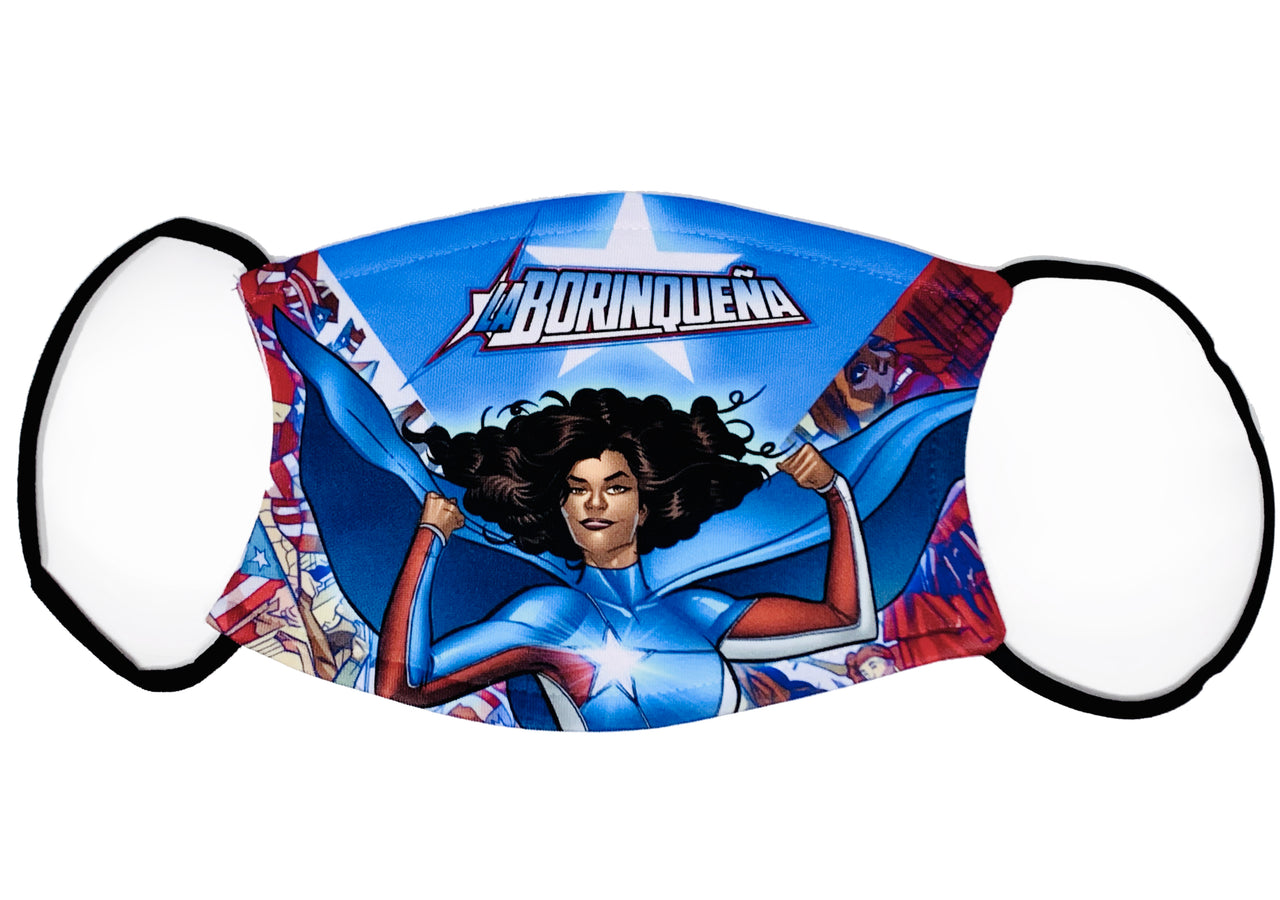 La Borinqueña Filter Kids Mask #2