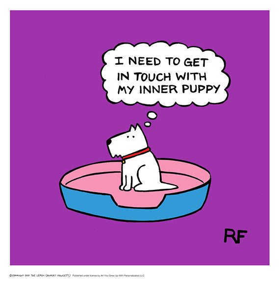 Inner Puppy - Purple