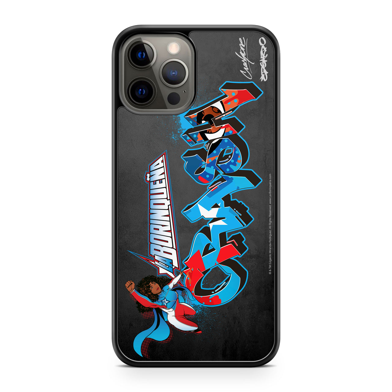 La Borinqueña X Crash One Personalized Mobile Phone Case
